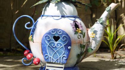 Fairy Garden Tea Pot
