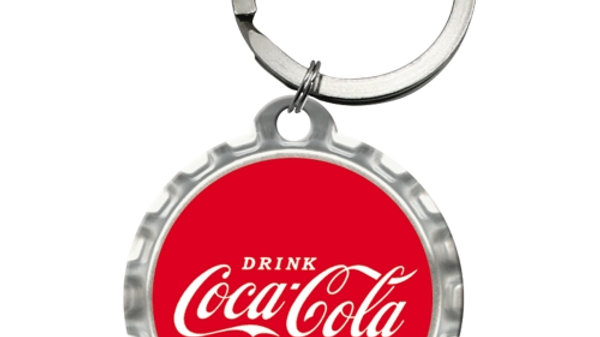 Coca Cola Red Keyring