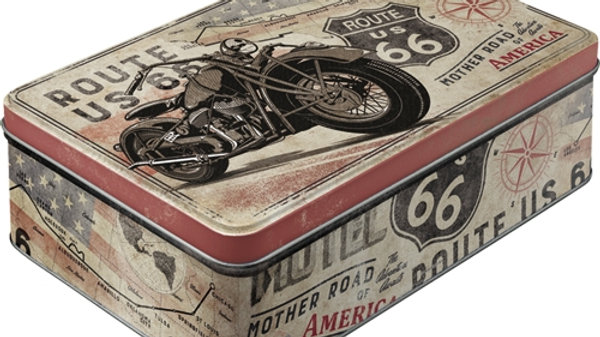 Route 66 Flat Tin Large