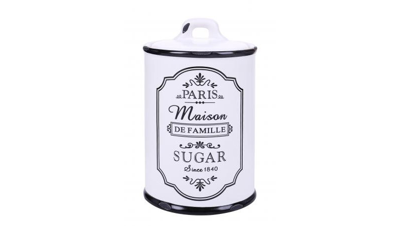 Parisienne Ceramic Sugar Jar