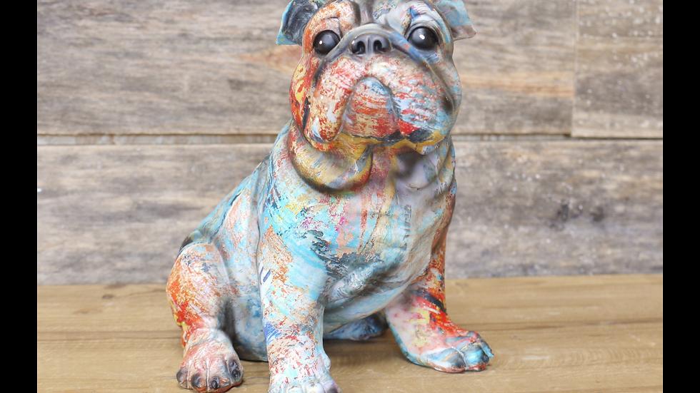 Small bulldog decoration