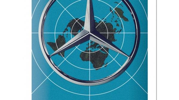 Mercedes Benz 15x20cm sign