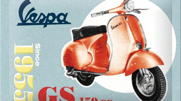 Vespa Since 1955 GS 150cc 15x20cm sign