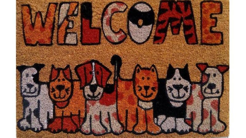 Welcome Pets Doormat