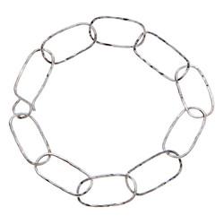Oblong link bracelet