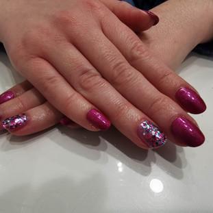 glam and glitz gel polish