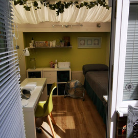 beautiful, secluded treatment room