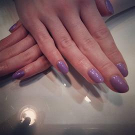lovely lilac gel polish