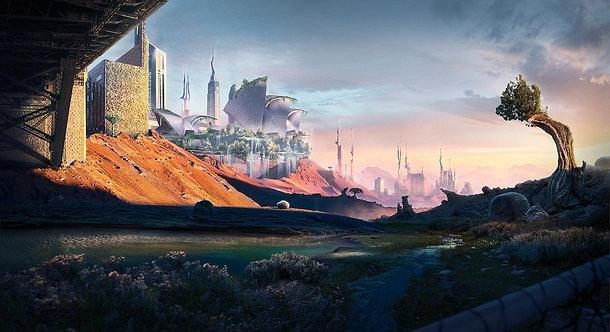 Técnicas de Matte Paint: Visões do Futuro