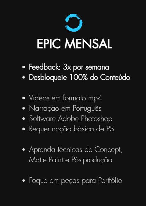 Mentoria - Plano Epic Mensal