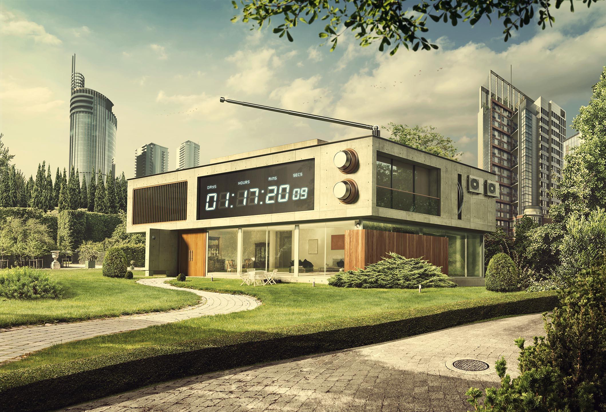 Chronometer House - Minimalistic