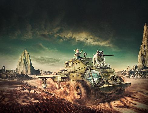 Técnicas de Pós-produção: Mad Max Baby Road