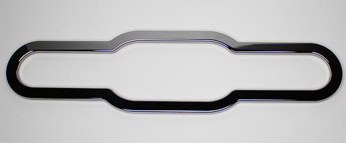 6 Gauge Aluminum Chrome Plated Bezel