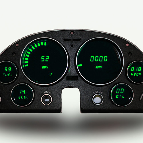 ray s chevy restoration site gauges in a truck 66 nova