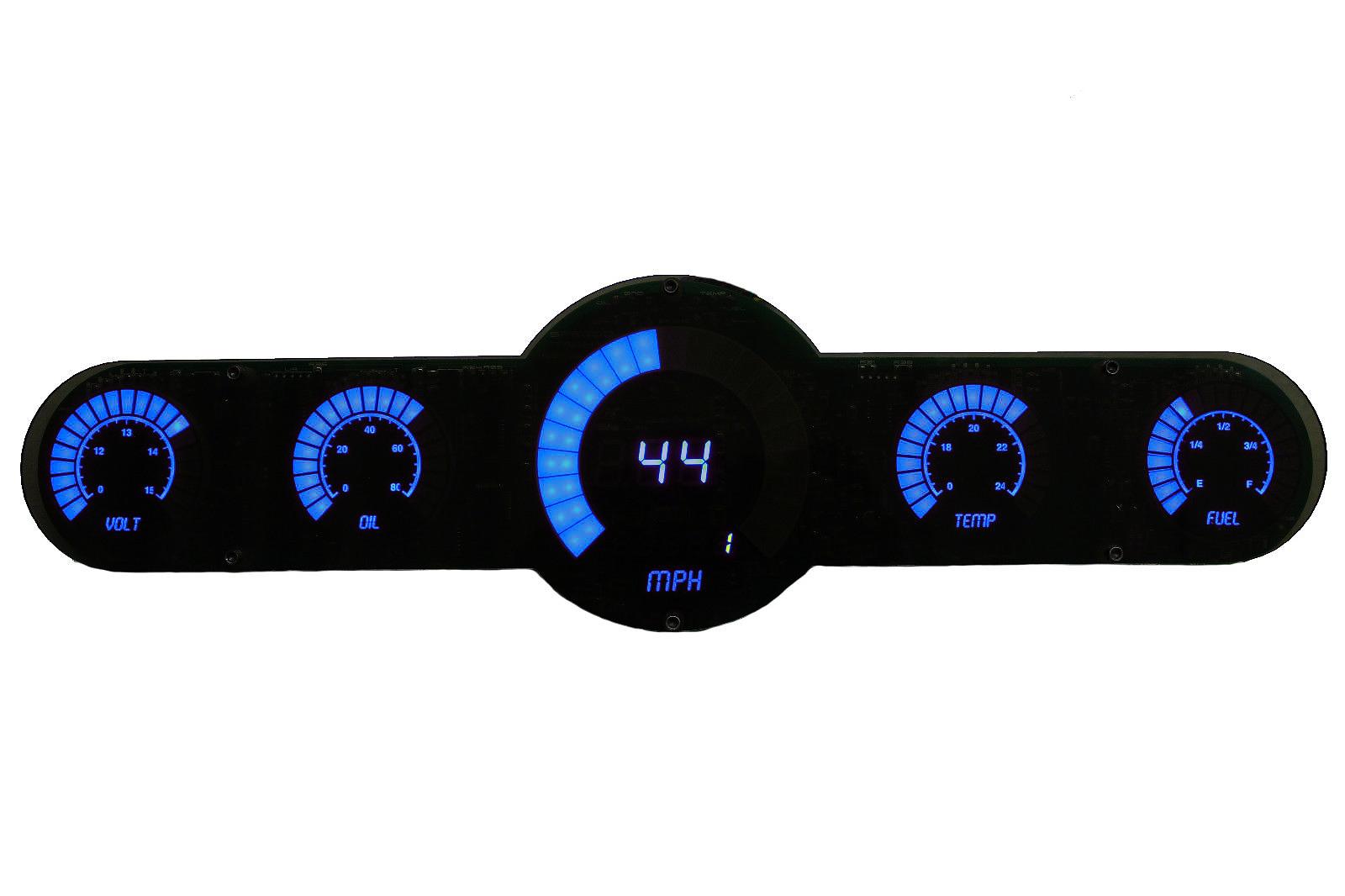 Shop Intellitronix Corp 1968 Camaro Dash Instrument Cluster Circuit Board With Tachometer 55 Gauge Bargraph Analog Panel