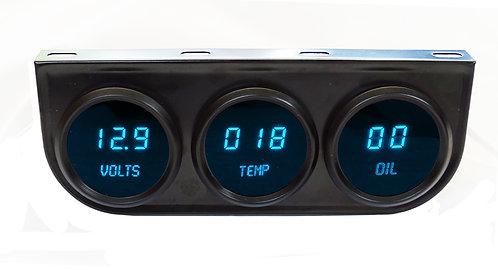 3-Gauge LED Digital