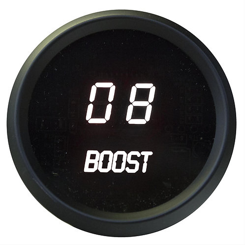 Boost LED Digital Gauge in Black Bezel