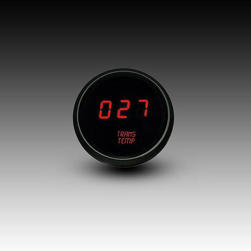 Transmission Temperature LED Digital Gauge in Black Bezel