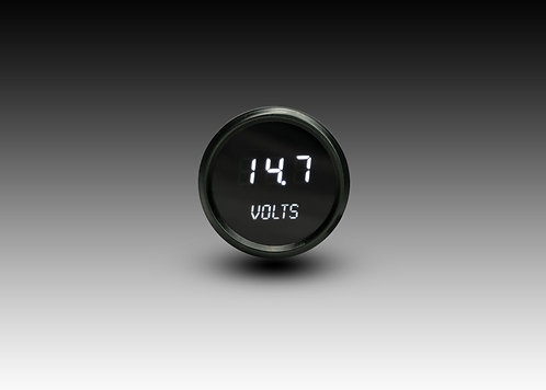 Voltmeter in Black Bezel