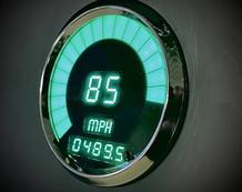 Intellitronix Digital Speedometer GREEN_