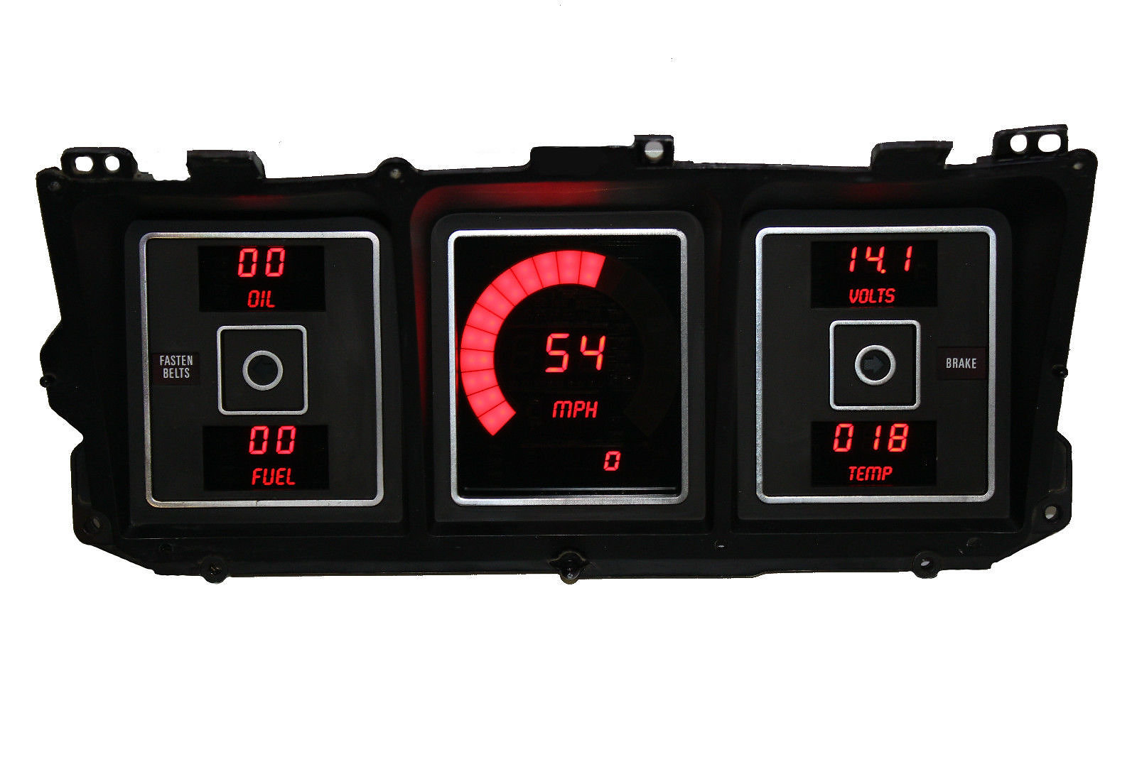 Direct Fit Digital Panels 1957 Chevy Truck Gauge Cluster 1973 1979 Ford Replacement Dash
