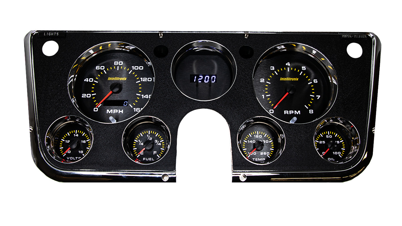 65 Mustang Voltage At Fuse Box Intellitronix United States Car Gauges Apchevy