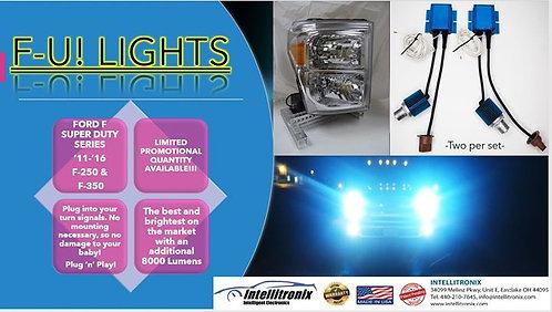 2011-2016 Ford F Super Duty Series Ultra Bright Lights