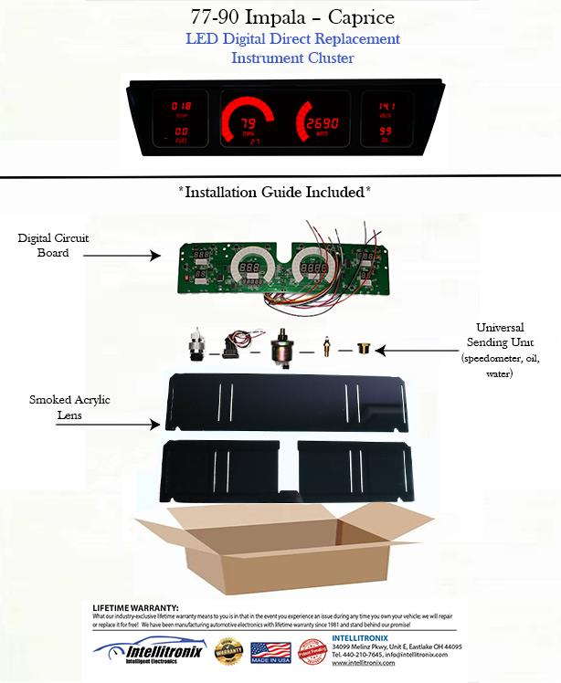 [DIAGRAM_3US]  1977-1990 Impala Caprice LED Digital DP1211   intellitronix   Intellitronix Wiring Diagram      Intellitronix