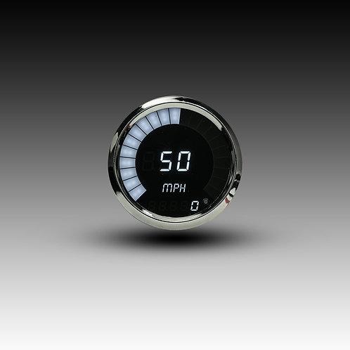 Speedometer Bargraph Memory Programmable in Chrome Bezel