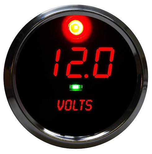 Co-Pilot Voltmeter in Chrome Bezel