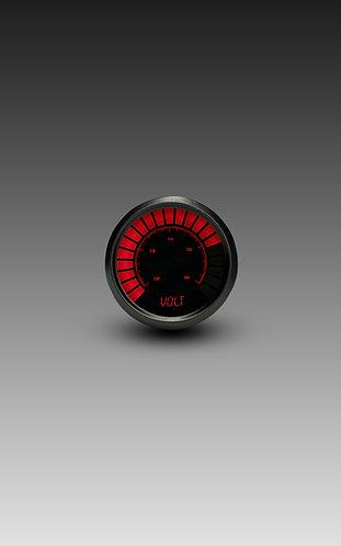 Voltmeter Analog LED Bargraph in Black Bezel
