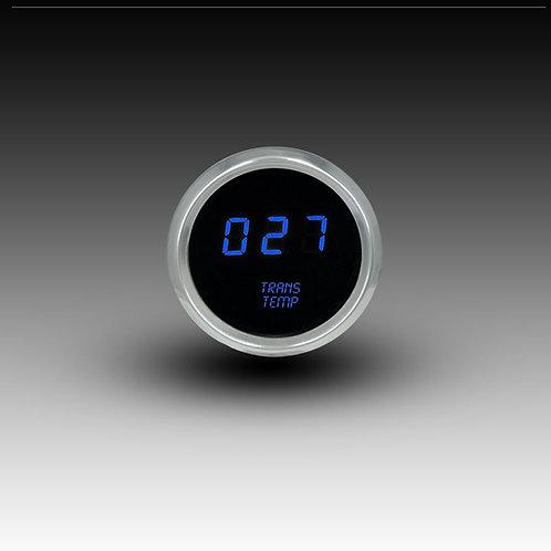 Transmission Temperature LED Digital Gauge in Chrome Bezel