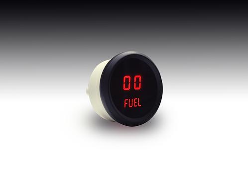 Fuel Level LED Digital Gauge in Black Bezel