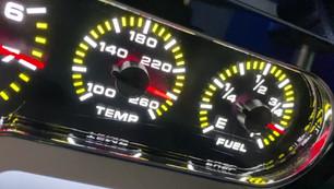 Intellitronix Analog Temp and Fuel Gauge