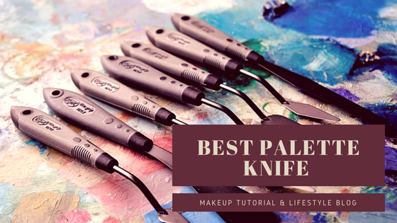 Best type of palette knife to use