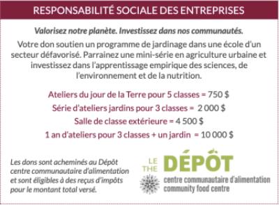 CSR - Ça pousse!