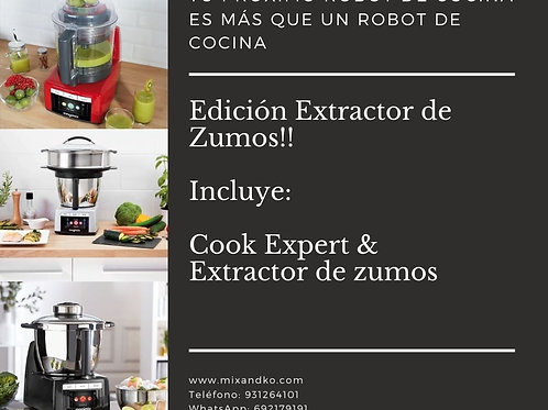 COOK EXPERT EDICIÓN EXTRACTOR DE ZUMOS