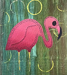 Water Bird  Flamingo  20x18.jpg