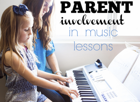 What do I do as a parent for my child's piano study?