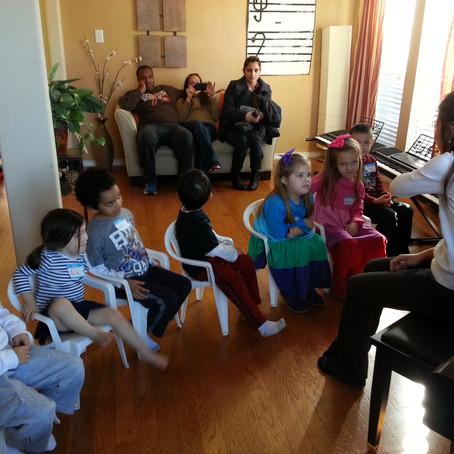 Pre-school Group Piano Class