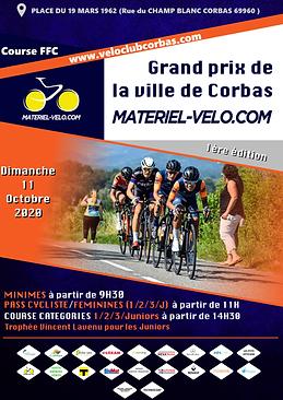 Grand prix de la ville de Corbas Matériel vélo