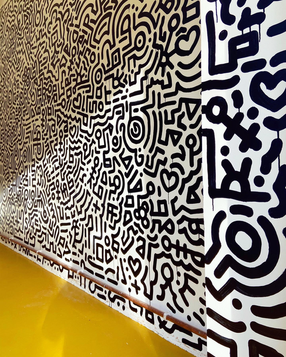 Jack Allen Design Studio Mural