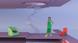 Green interior home