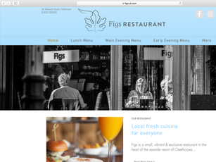 Figs re design of website and UX