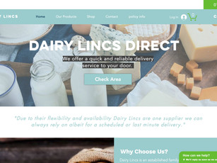 Dairy Lincs Direct Website
