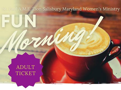 Fun Morning - Adult Registration