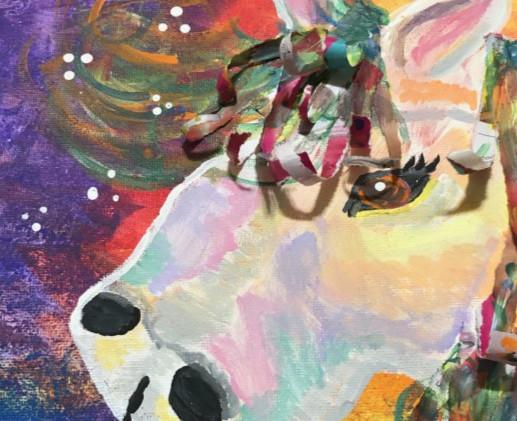 Mosaic Horse