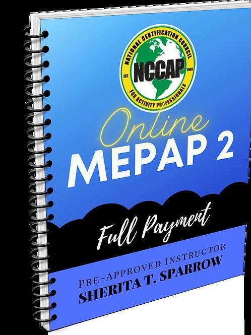 MEPAP 2 FULL Payment