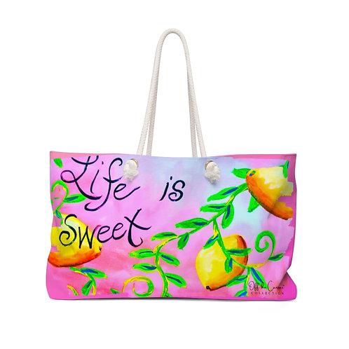 Life is Sweet Weekender Bag