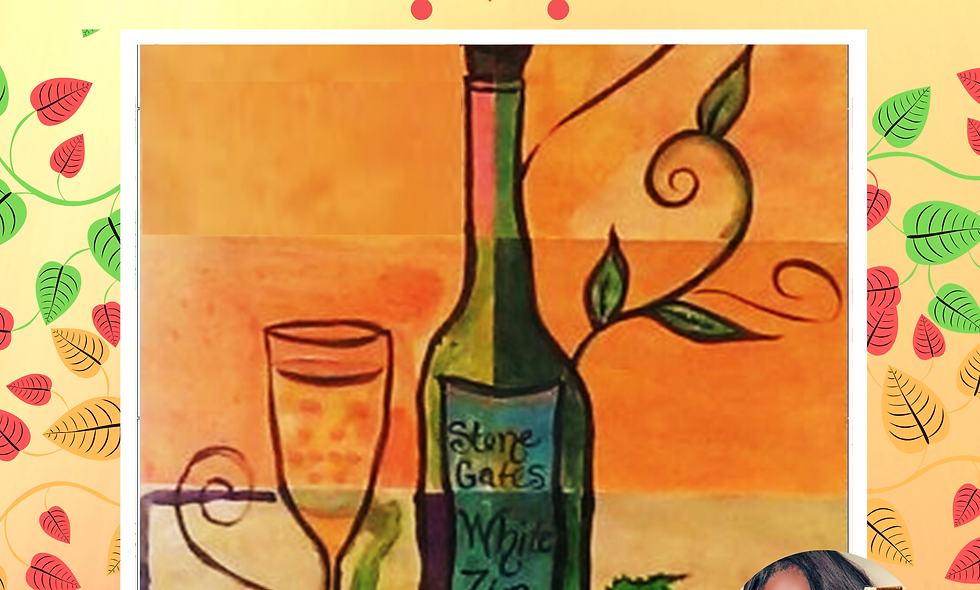 Relax & Unwine Collage Painting